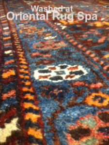 Persian Quashgai Carpet - Rug Cleaning Fleet