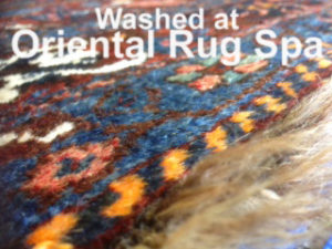 Persian Tribal Quashgai Carpet - Rug Cleaning Bagshot