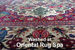 Antique Kashan Carpet - Persian Rug Cleaning Woking