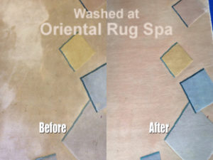 Modern Contemporary Chinese Rug - Oriental Carpet Cleaning Guildford