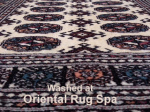 Pakistani Bukhara - Persian Rug Cleaning Godalming