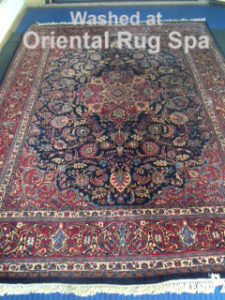 Persian Mashad Rug Cleaning Fleet