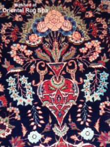 Antique Persian Kashan Design - Oriental Rug Cleaning Hartley Wintney, Hook, Hampshire
