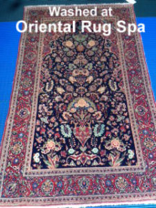 Antique Persian Kashan - Oriental Rug Cleaning Hartley Wintney, Hook, Hampshire