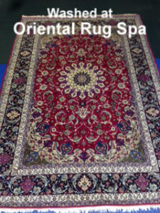 Persian Isfahan Carpet - Oriental & Persian Rug Cleaning Guildford, Surrey