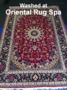 Persian Isfahan Carpet - Oriental & Persian Rug Cleaning Guildford, Surrey