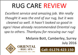 Persian & Oriental Silk Rug Cleaning & Repair Camberley,Surrey