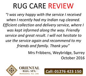 Indian Carpet - Persian and Oriental Rug Cleaning Weybridge