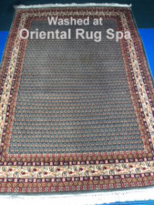 indian-carpet-with-persian-design-persian-rug-cleaning-englefield-green-berkshire