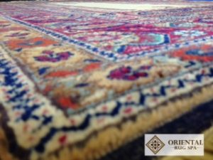 Turkish Kayseri Prayer Rug - Oriental Rug Cleaning Wokingham Berkshire