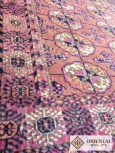turkoman-tekke-carpet-antique-rug-cleaning-wokingham-berkshire