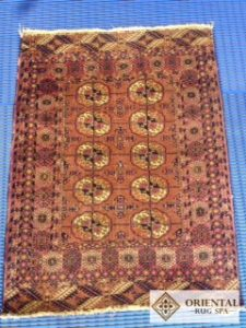 Turkoman Tekke Carpet - Antique Rug Cleaning Ascot, Berkshire