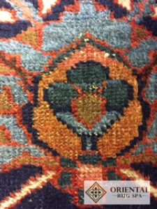 Antique Persian Heriz - Rug Cleaning Crondall, Farnham, Surrey