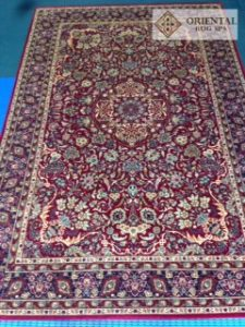 Belgian Wilton, Persian Design. Oriental Rug Cleaning Camberley, Surrey