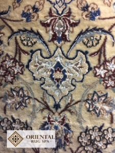 Fine Persian Wool & Silk Nain - Rug Cleaning Finchampstead, Wokingham, Berkshire