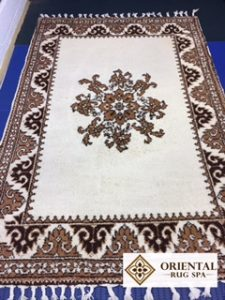 Image of a Moroccan rug from Oxshott - washed in November 20107