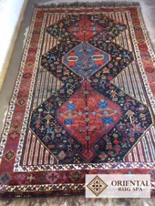 Persian Carpet - Rug Cleaning - Frimley Green, Camberley, Surrey