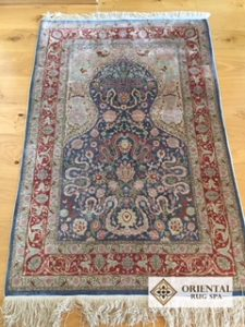 Turkish Silk Hereke Rug Cleaning Claygate Esher Surrey