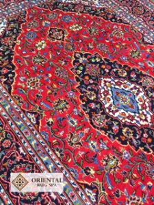 Persian Kashan Rug Cleaning West Byfleet, Surrey