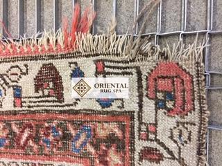 Oriental Rug Fringe Damage